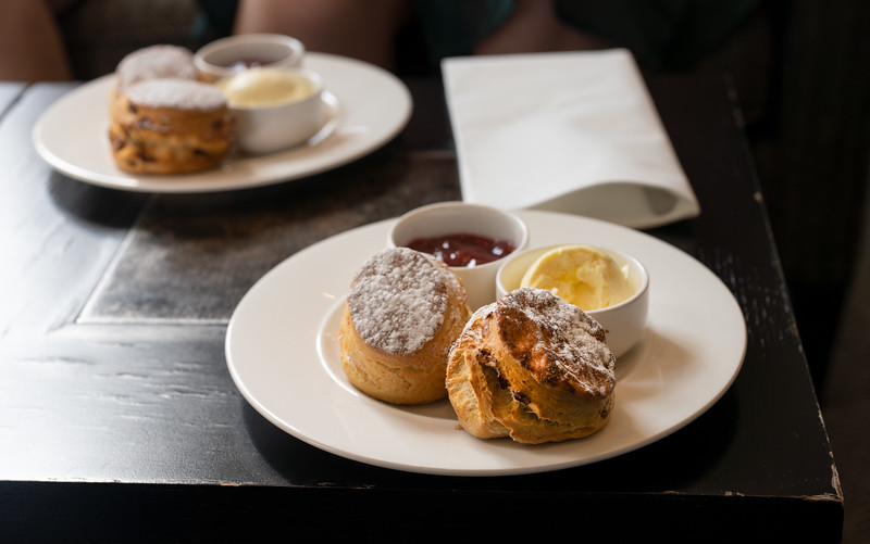 Cream Tea at The Old Bank Hotel, Oxford (Aug 2021)