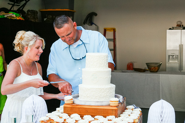 The Reception - Cutting the Cake & Toasts