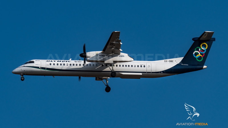 Olympic / Bombardier DHC-8-402Q / SX-OBE