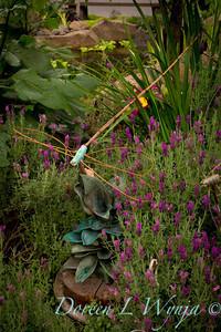 Jean Chapin's artist Garden