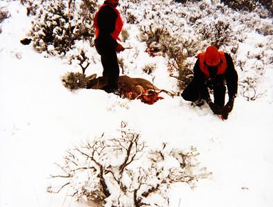 1984 Colorado Hunting Trip