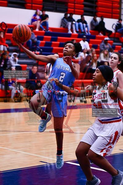 Potomac @ Gar-Field Girls Varsity Basketball 1-6-20