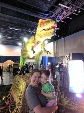 Dinosaurs Live Exhibit 2.19.17