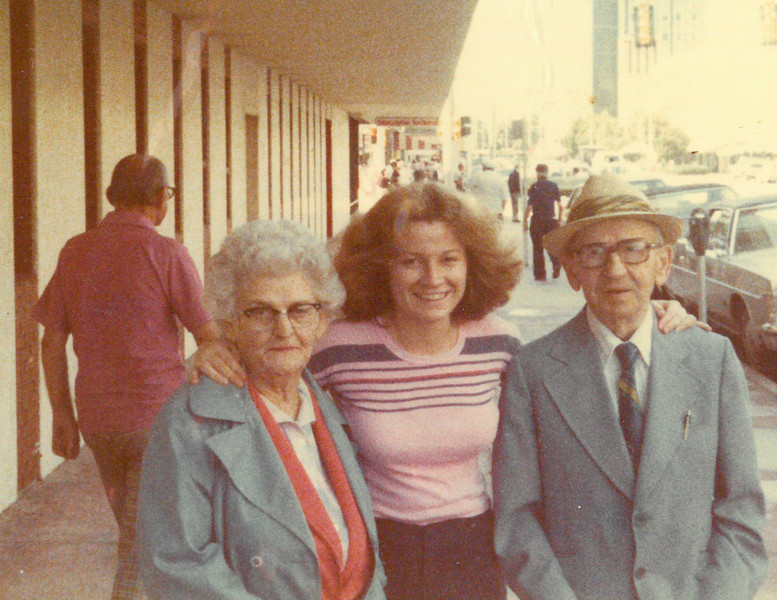 Sister Diane and Grandparents, William and Molly
