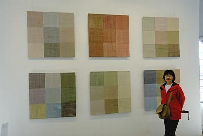 Textile Art Display