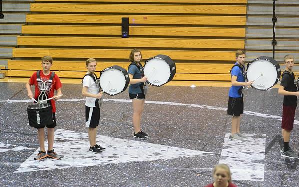 Winter Percussion Practice