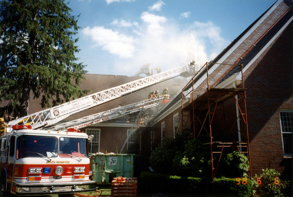 6/6/1998 Church Fire in Guilford