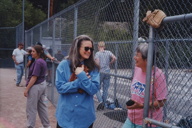 1997 - Sharon Olds @ baseball game.jpeg