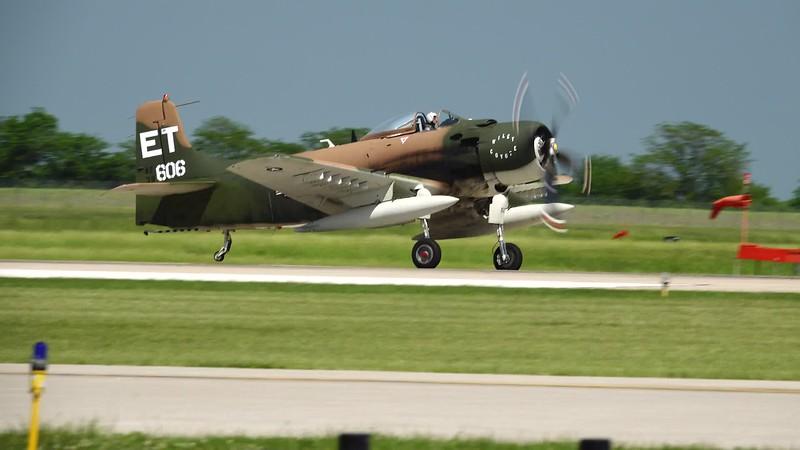 A1 Skyraider Takeoff.MP4