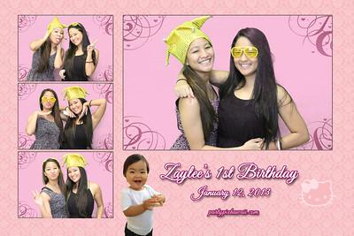 Zaylee's 1st Birthday (Multi-Photo Collage)