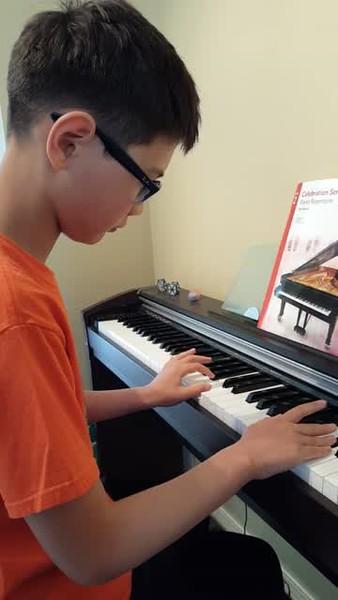 Iain's Piano Recital Piece, 2017