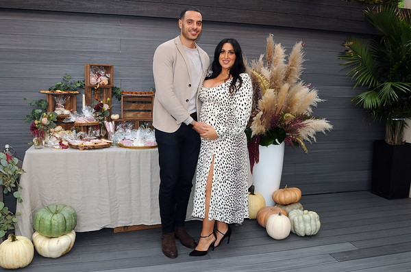 Jessica and Ramy are expecting