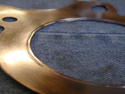 06-05-05 Homemade V4 Headgaskets