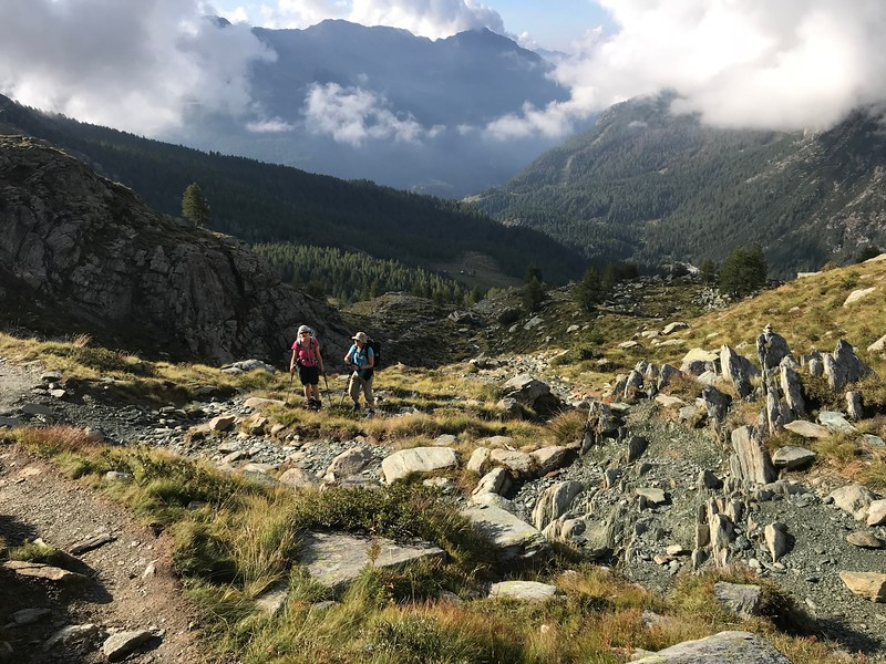 Rifugio Musella to Rifugio Carate Brianza
