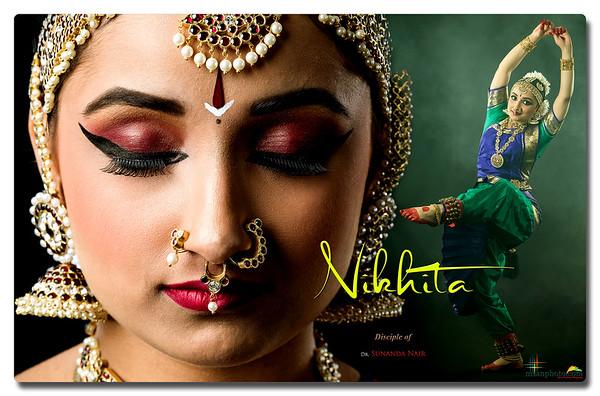 Nikhita's Pre-Arangetram Portraits 2021