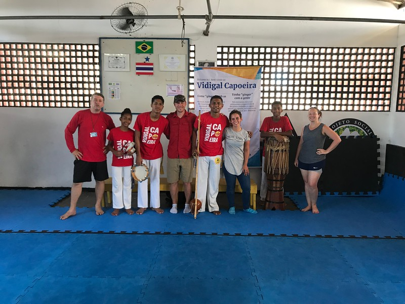 Vidigal Capoeira Favela Tour Rio