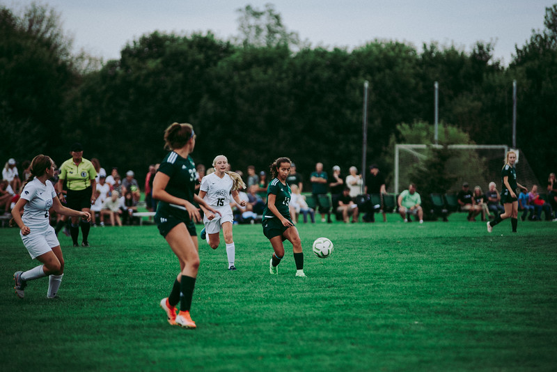 Holy Family Girls Varsity Soccer vs. Glencoe-Silver Lake, 9/24/19: Hailey Pavelka '22 (13)