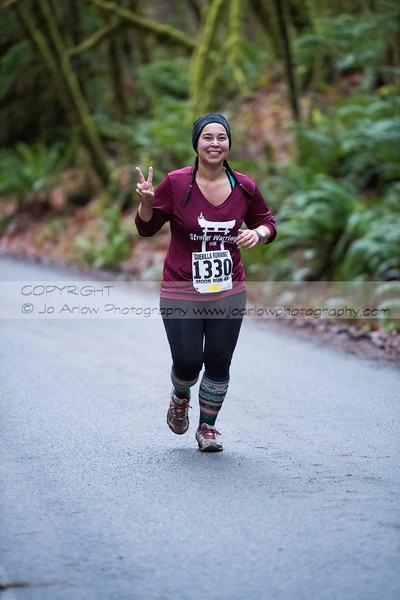 Porter Creek Trail Run, December 16, 2017