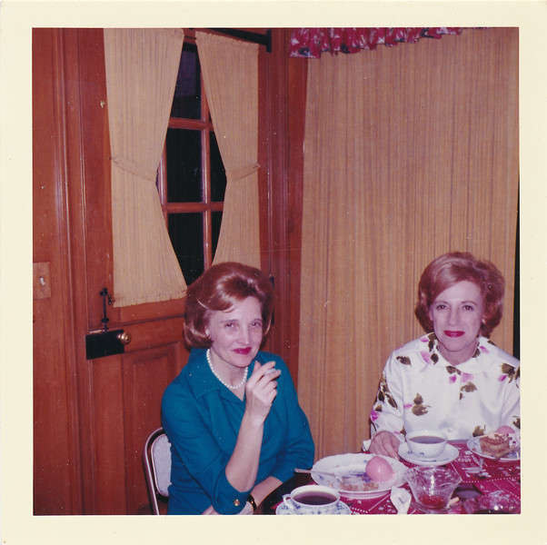 Elaine Freedman (neibor)and Anabelleback: KODACOLOR PRINTMade by KodakJAN 64p