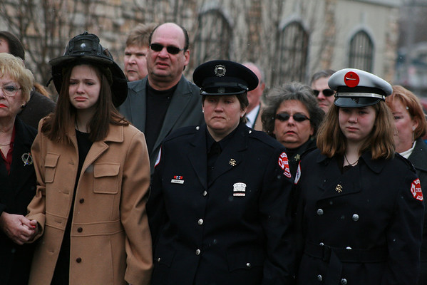CFD Lt Pat Hannon Of Chicago Truck Co#8 Funeral Services