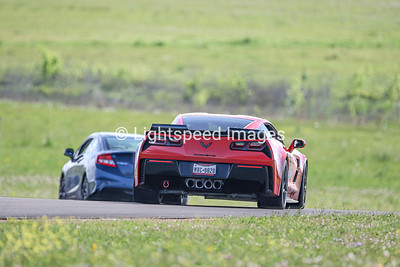 36 Red C7 Corvette