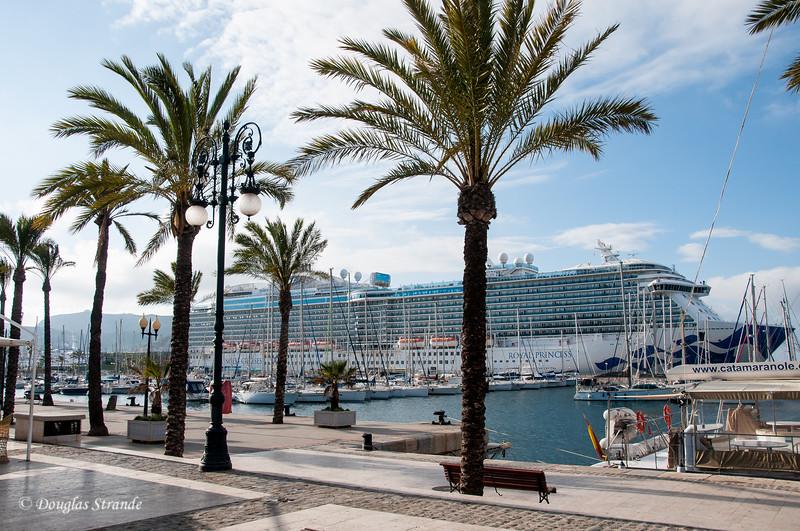 Cartagena, Spain - Royal Princess in port