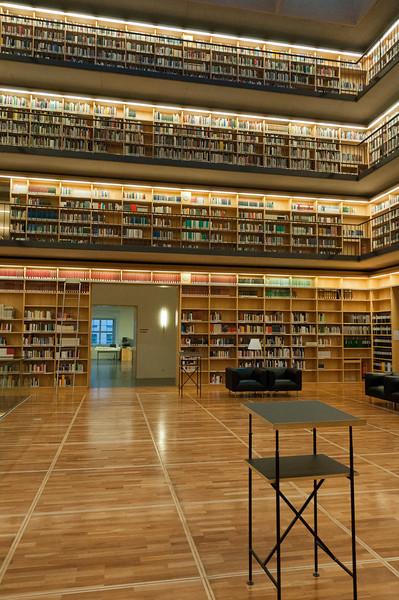 Details inside Ana Amalia Library in Weimar, Germany
