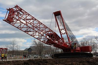 Construction Crane Assembly