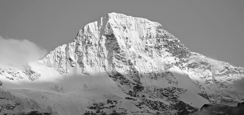 Switzerland Black and White