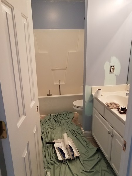 more bathroom before