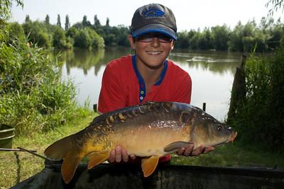 Jordan Hackney at Wildmarsh Lake