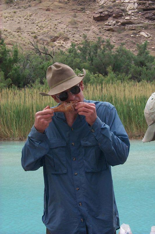 Dave Eating Turkey   (May 30, 1999, 01:35pm)