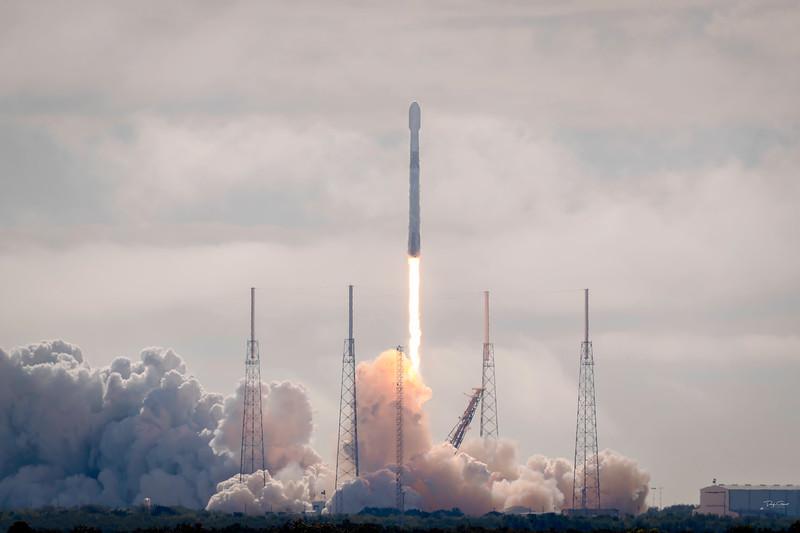 """Starlink 4 Aboard a SpaceX Falcon 9"""