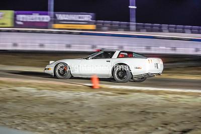White C4 Corvette
