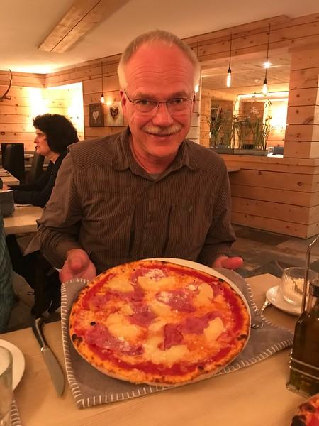 Pizza in St. Moritz