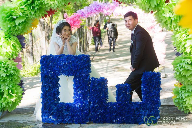 Osh Weddings in Love Park - Kyrgyzstan