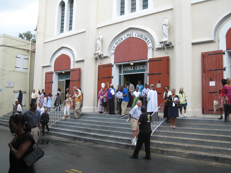Sunday Mass in Charlotte Amalie, St. Thomas