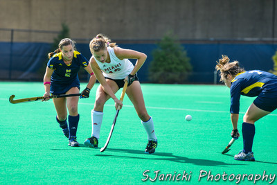 Michigan Field Hockey Vs Miami(OH) 10-21-12