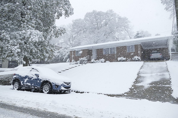 Birmingham Snowstorm 12/08/17