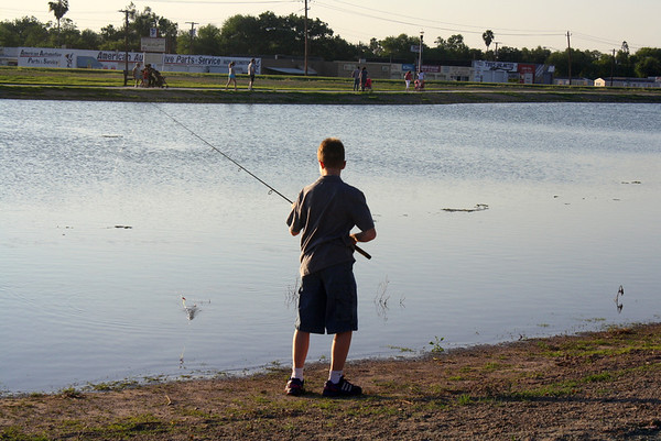 Town Lake at Firemen's Park Opens