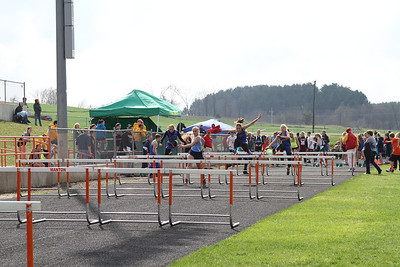 Manton Invite Girls 100 Hurdles