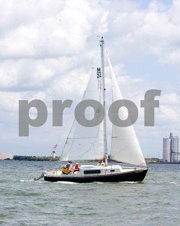 """""""Linda Jean""""- Bob Horan Sail #"""