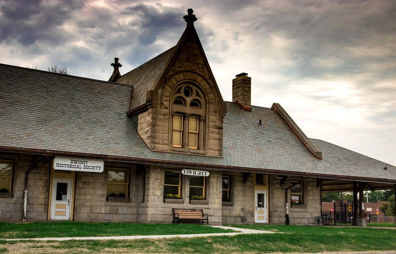 Train Depot, Dwight, Illinois