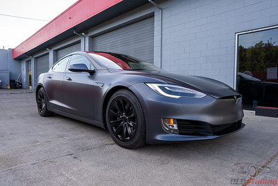 2017 Tesla Model S - XPEL Stealth and CQFR Coating