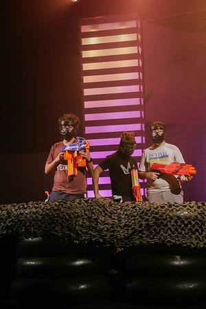 Manhood Nerf War - October 12