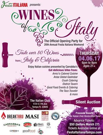 Wines of Italy 2017