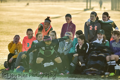 April 23, 2017 - PSC U13 Girls White - vs AYSO