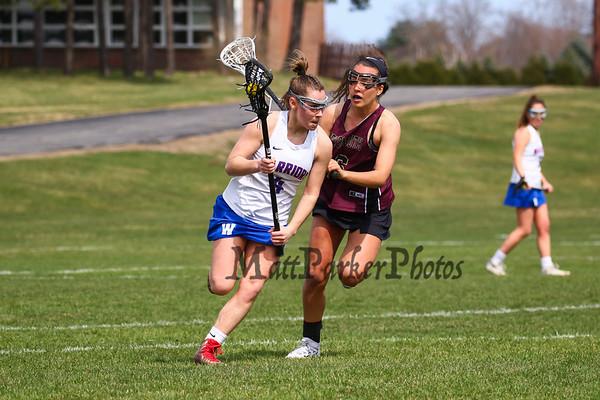 2019-4-14 WHS Girls Lacrosse vs Portsmouth