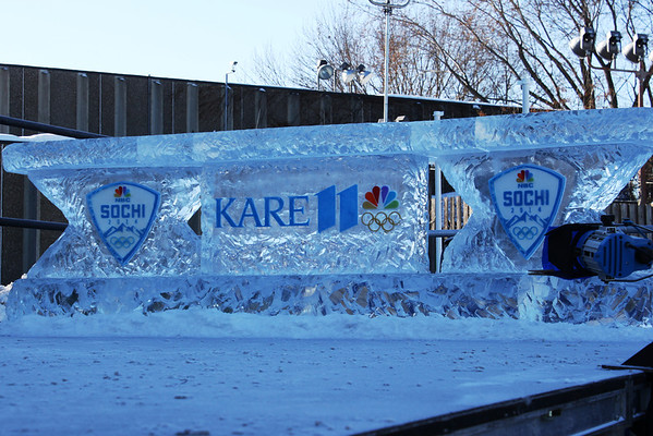 2-6-13 Kickin' off the Olympics at KARE 11