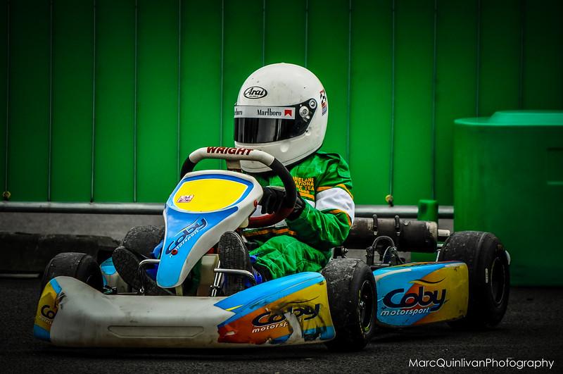 Motorsport Ireland Karting Championship - Round 2 2012 - Whiteriver - Alyx Coby